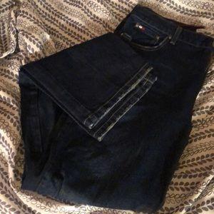 Never worn Tommy Hilfiger dark Jeans